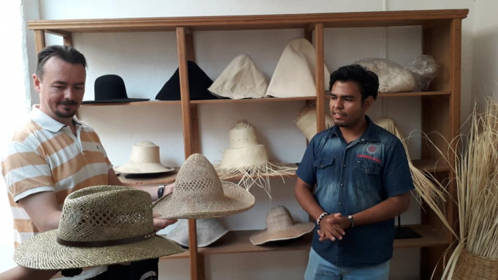Ruta sombreros